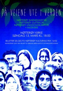 Nøtterøy 13.mars På veiene ute i verden